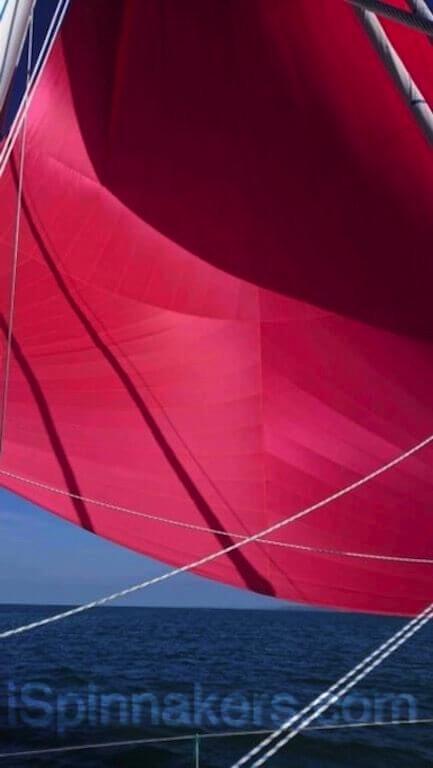 spinnaker asimetrico rojo 183 m2